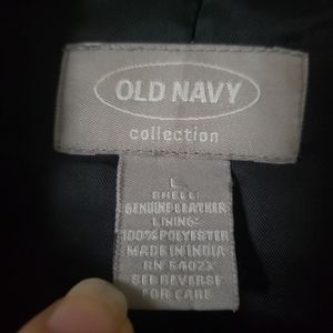 Old Navy Jackets & Coats - Ladies Leather Jacket